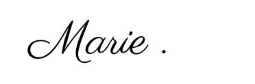Marie_signature